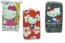 Funda Silicona Hello Kitty Para Ipod 4g 4gs + Film Protector