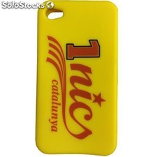 Funda silicona Iphone 4 1nics