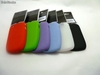 Funda Silicona Original Blackberry 8520 9300 + Film Protecto