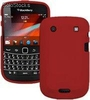 Funda Silicona Roja BlackBerry bold 9900