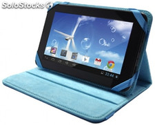 "Funda sunstech BAG71 7"" Azul c/Soporte"