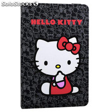 "Funda tablet Evitta 7"" 3P Hello Kitty negra EVUN000426"