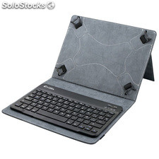 "Funda+teclado bluetooth 3.0 para Tablet 9.7""-10.1"" Evitta EVUN000504 black"