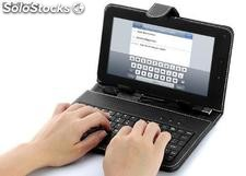 Funda teclado tablet 7""