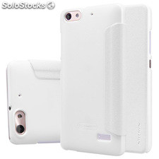 Funda tipo libro Huawei Honor 4C/G Play Mini blanca