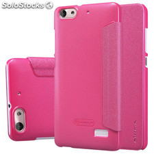Funda tipo libro Huawei Honor 4C/ G Play Mini rosa