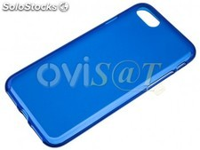 Funda TPU azul para Apple iPhone 7, iPhone 8 de 4.7'