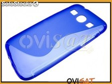 Funda TPU azul para Samsung Galaxy Core Plus, G350
