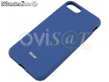 Funda TPU, en color azul marino, para Apple iPhone 7, iPhone 8, en blister