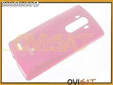Funda TPU Jelly Case color rosa para LG G4, H815, en blister