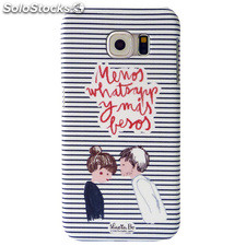 Funda trasera Lucia Be Whatsapp Samsung Galaxy S6 G920