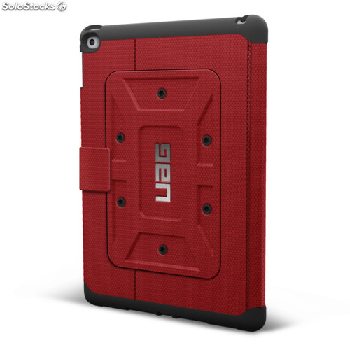 Funda uag Folio Rogue ipad Air 2 Roja