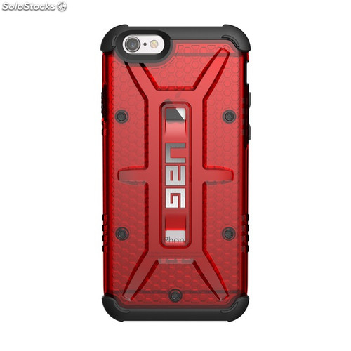 Funda UAG Iphone 6/6S Rojo Transparente