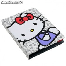 "Funda universal evitta hello kitty booklet white para ebook 6""/15.24CM -"