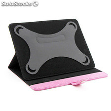 "Funda universal Mooster compatible con tablets de 9.2"" color rosa"
