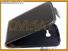 Funda vertical Forcell chic negra para Samsung S6802 Galaxy Ace Duos