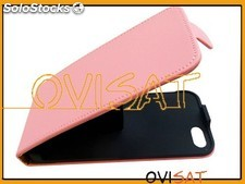 Funda Vertical para iPhone 5, iPhone 5s Rosa