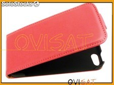 Funda vertical roja par Apple iPhone 5, iPhone 5s