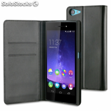 Funda wallet folio made for wiko para smartphone highway star -