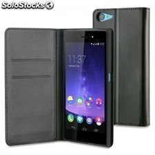 Funda wallet folio made for WIKO para smartphone highway star - funcion