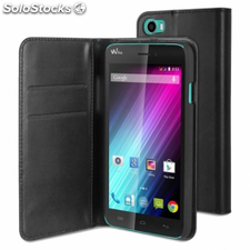 Funda wallet folio made for wiko para smartphone lenny - funcion