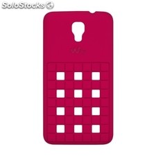 Funda wiko mobile Carcasa trasera bloom Fucsia