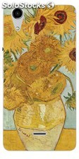 Funda Wiko Rainbow Lite - VanGogh Girasoles