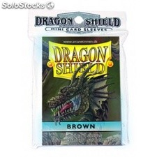 Funda Yugi Dragon Shield Brown (50)