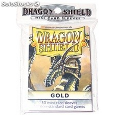 Funda Yugi Dragon Shield Gold (50)