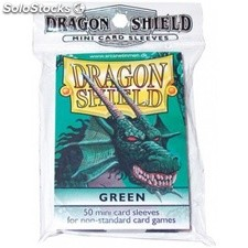 Funda Yugi Dragon Shield Green (50)