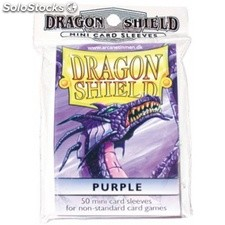 Funda Yugi Dragon Shield Purple (50)