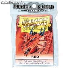 Funda Yugi Dragon Shield Red (50)