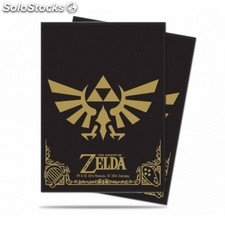 Funda Zelda Black And Gold (65)