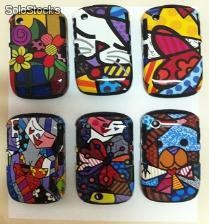 Fundas Romero Brito backberry 8520 9000 8900 9800 9300
