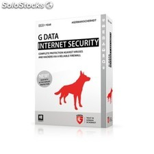 G DATA - Internet Security, 1PC, 1 Year, Box 1año(s) Español