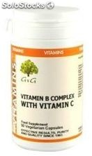 G&G Food Supplies B-Complex y Vitamina C 50 cápsulas