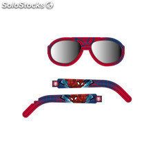Gafas de sol aviador spiderman rojo - idealcasa kids - 8433774605324 -