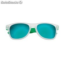 Gafas de sol color verde