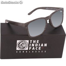 Gafas de sol free spirit - black wooden - the indian face - 8433856065947 -