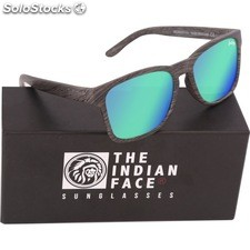 Gafas de sol free spirit - black wooden - the indian face - 8433856065961 -