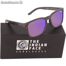 Gafas de sol free spirit - black wooden - the indian face - 8433856065978 -
