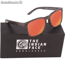 Gafas de sol free spirit - black wooden - the indian face - 8433856065985 -