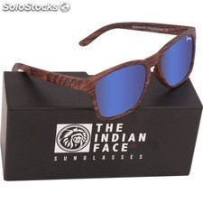 Gafas de sol free spirit - brown wooden - the indian face - 8433856066104 -