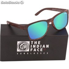 Gafas de sol free spirit - brown wooden - the indian face - 8433856066111 -