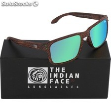 Gafas de sol freeride spirit - brown wooden - the indian face - 8433856065695 -
