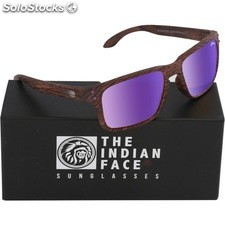 Gafas de sol freeride spirit - brown wooden - the indian face - 8433856065701 -