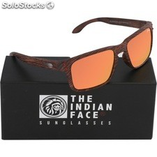 Gafas de sol freeride spirit - brown wooden - the indian face - 8433856065718 -