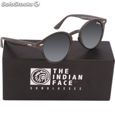 Gafas de sol urban spirit - black wooden - the indian face - 8433856065770 -