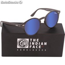 Gafas de sol urban spirit - black wooden - the indian face - 8433856065787 -