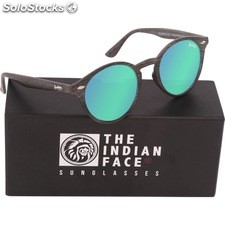 Gafas de sol urban spirit - black wooden - the indian face - 8433856065794 -